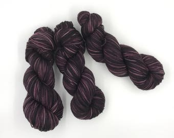 Hand Dyed Yarn - 4 ply (Fingering) - Ristretto