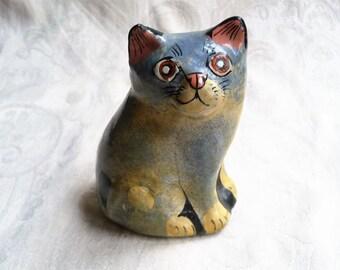 Vintage Paper Mache Cat