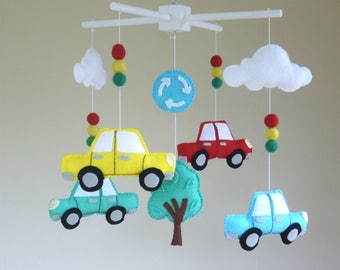 Baby Mobile, Car Baby Mobile, **SALE**  Transport Baby Mobile, Cot Mobile, Vehicle Mobile, Nursery Decor, Crib Mobile.