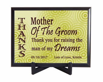 Mother of the Groom Gift from Bride, Custom Gift to Mother in Law, Wedding Thank you Gift for Mother in Law,Parents of the Groom Gift,PWH004