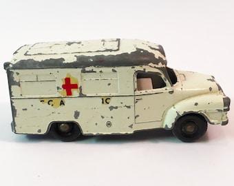 Matchbox Car Toy Truck Toy Car Vintage Toy Diecast Cars Vintage Cars Lesney Matchbox Ambulance Series No 14 Lomas Ambulance Diecast Truck