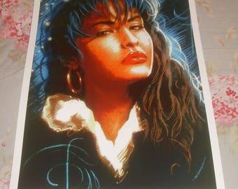 Selena Quintanilla Poster Etsy