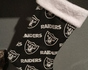 Raiders Christmas Stocking