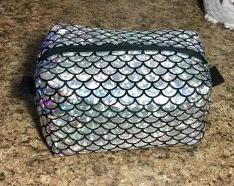 Silver Sparkling Multi-Color Mermaid Bag