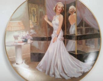 Carole Lombard As Mary In The Gay Pride By Erik Dzenis Hollywood Glamour Girl Wall Plate