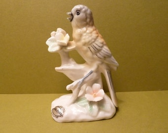 Bird on a Branch Figurine, By: Ardalt Verithin Japan