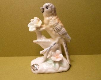 Bird on a Branch Figurine, By: Ardalt Verithin Japan