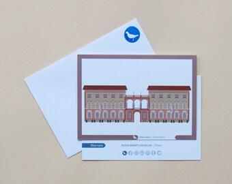 Milan Icons Greeting Cards-Bagatti Valsecchi Museum-Milan