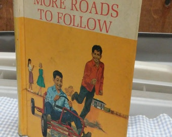 More Roads to Follow New Basic Reader Grade level 3-2 1965 Edition