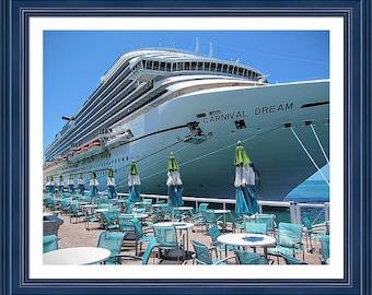 Carnivel Dream Docked in Key West