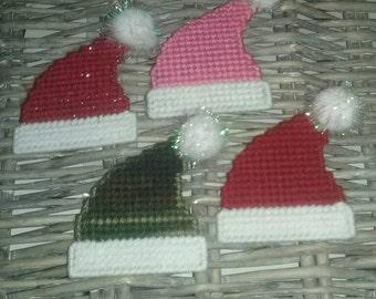 Santa hat magnets