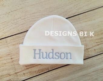 Newborn hat, Personalized beanie, Monogramed Baby Hat, Newborn baby hat, Personalized newborn hat, Personalized baby beanie, Baby beanie hat
