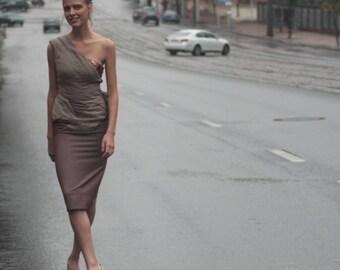 Women dress/women dress color sand