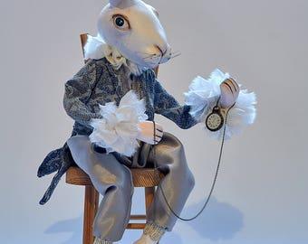 MR.Robert White Rabbite
