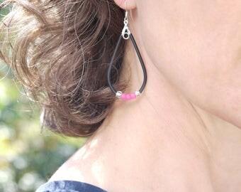 Game Day Earrings - Sports Team Wear - Women's Dangle Earrings - Team Spirit Gift Ideas - School Spirit Wear - Sports Jewelry for Women