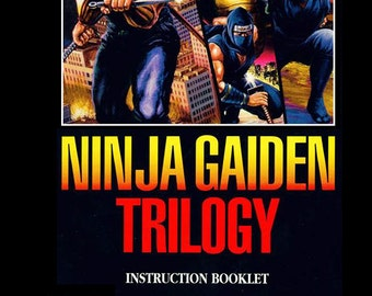 Ninja Gaiden Trilogy manual