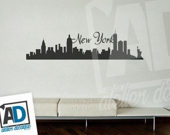 Wall decal no. R-003 - New York City