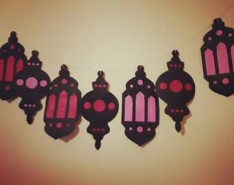 Ramadan Garland paper lanterns