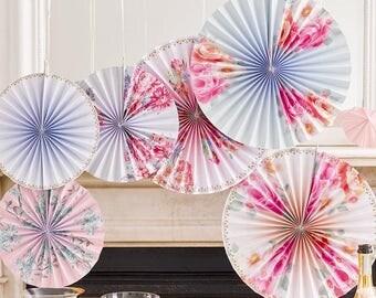 6 Truly Romantic Style Pinwheel Decorations