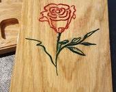 D&D Dice Box with Rose Motif