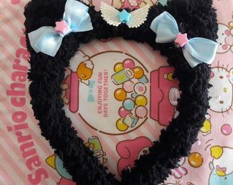 C.Kitty Headband (black)