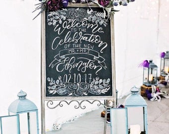 Custom Wedding & Event Signs