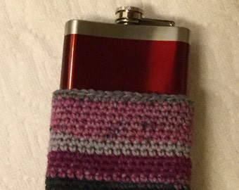 Flask with cozy