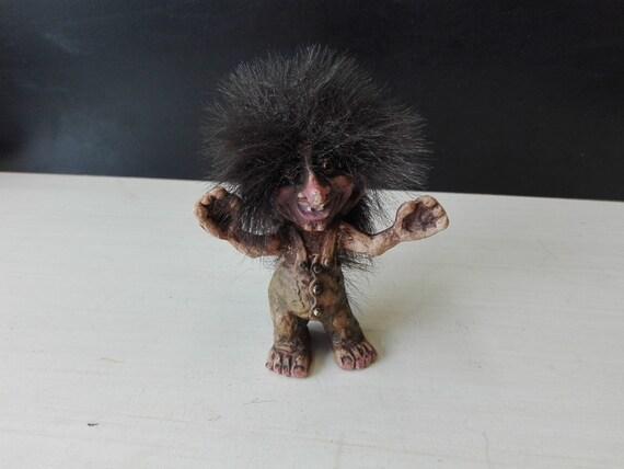 Norwegian troll, nyform, happy