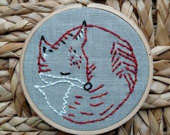 Small Sleeping Fox