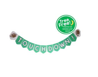 Football 8-ft Banner (Eco-friendly, Compostable)