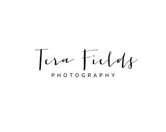 Photography Logo, Digital, Premade, Customizable, Photographers, Small Business, Boutiques, Calligraphy Logo, Modern Logo - TB-20