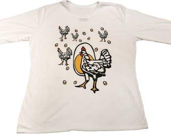 "Men's ""Roseanne: Chicken Shirt"" - Long Sleeve or Short Sleeve"