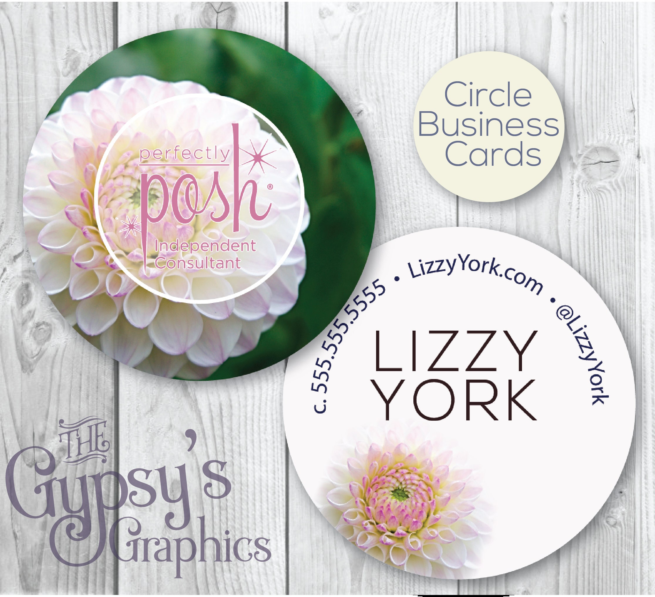 Perfectly Posh Business CardsDelilah DelightPerfectly Posh