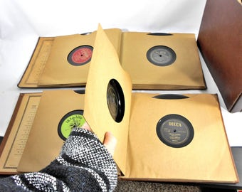 Collection of 31 Vintage 78 RPM Records – Good Condition