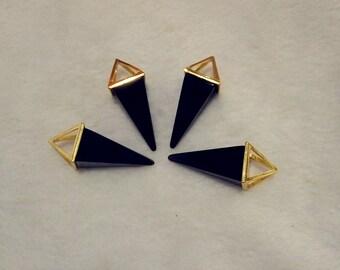 Obsidian Pyranid Necklace,Pyranid Necklace