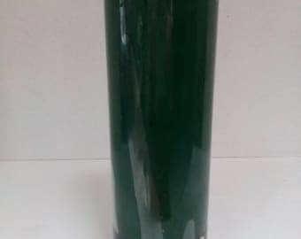 """Vintage Colonial Candle of Cape Cod Pillar Candle Evergreen Scented Candle 9"""" tall"""