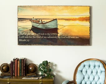Photo on Wood - Any Size | Custom Wood Print | Pallet Sign | Rustic Home Decor | Custom Wood Sign | Pallet Wall Art | Picture on Wood