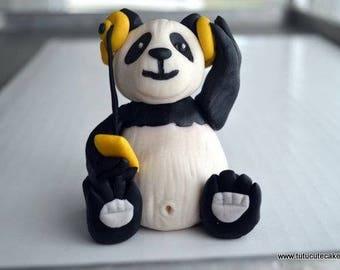 Panda Cake Topper (100% Edible)