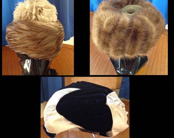 Vintage ladies hats. Excellent Condition