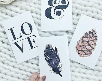 Keep it simple Scandi postcard collection
