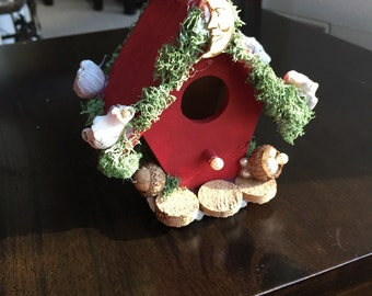 Red Fairy House