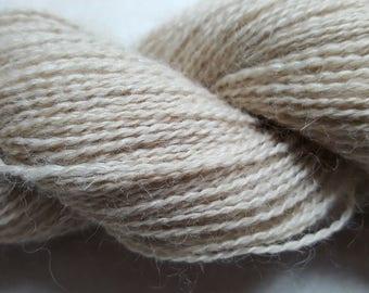 100% Baby Alpaca Yarn, 2 ply Lace, 400 yards