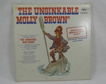 Unsinkable Molly Brown Original Broadway Cast Soundtrack Album Vinyl LP Record WAO 1509