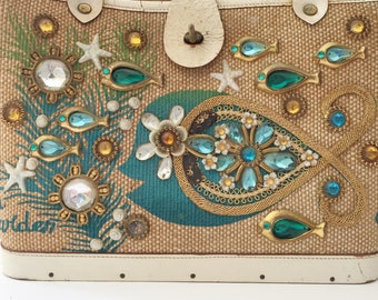 Vintage Enid Collins Purse Sea Garden