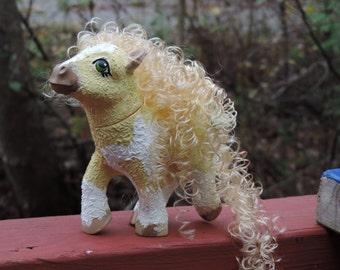 Shiile the Bashkir Curly- Custom My Little Pony