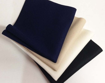 "Four Pack Basic Colors 8"" x 12"" Pieces Merino Wool Felt"