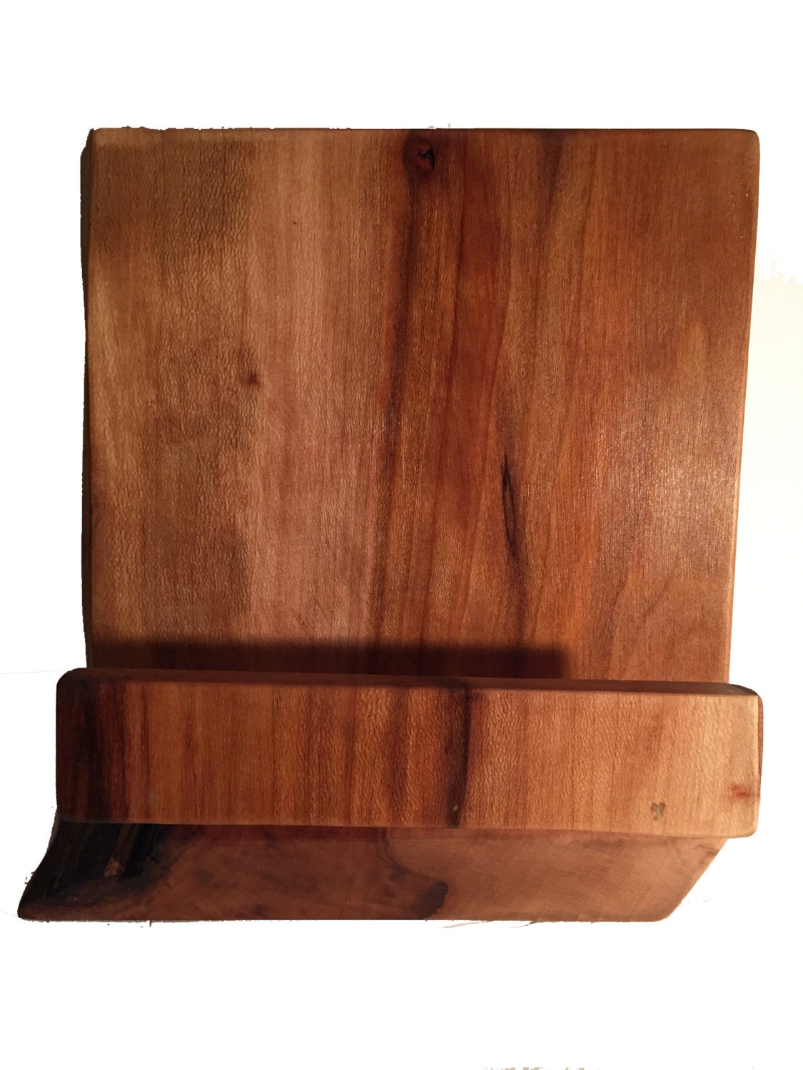 Cookbook Stand made from Reclaimed Wood, Recipe Storage, Cookbook Holder - Cookbook Stand Made From Reclaimed Wood, Recipe Storage, Cookbook