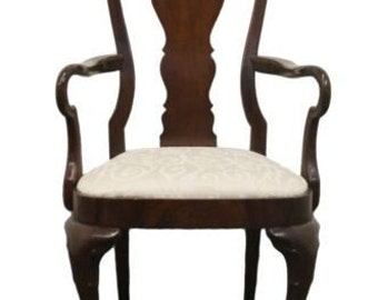 hickory furniture american masterpiece queen anne dining arm chair