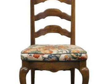 ETHAN ALLEN Classic Manor Ladderback Dining Side Chair 15-6000