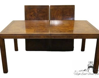Great HENREDON Scene One Campaign Style Dining Table 9100 20